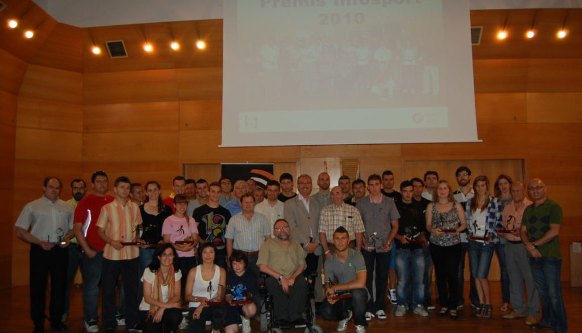 Lliurament Premis Infosport 14/06/2010