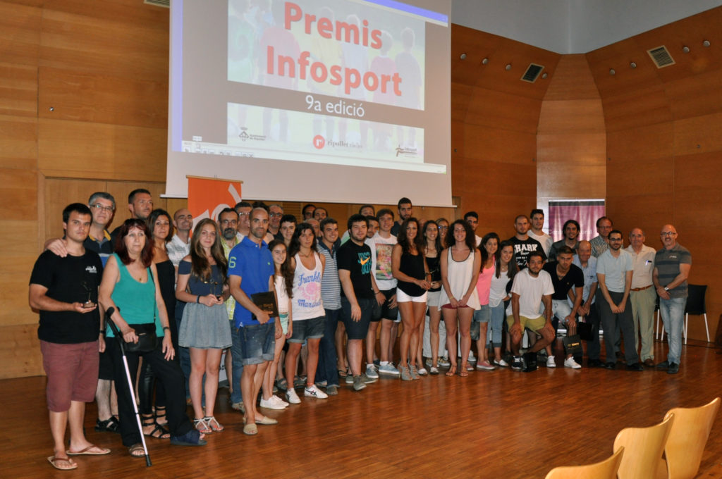 Lliurament Premis Infosport 29/06/2015