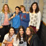 alumnes de primer d'ESO de FEDAC
