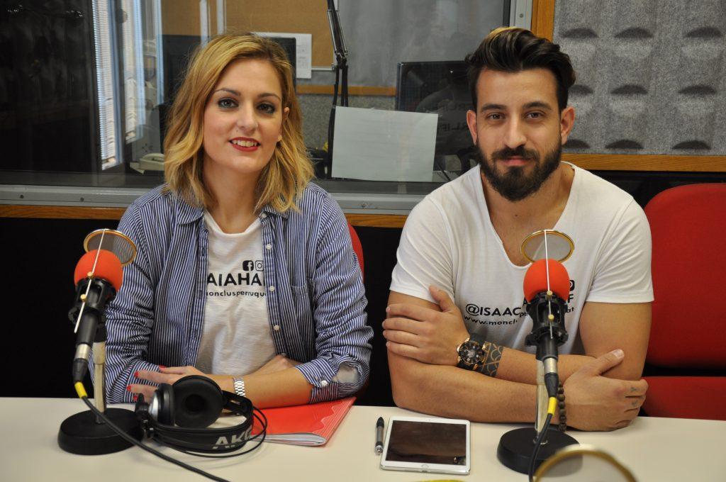 Isaac Espargaró i Laia Monclús