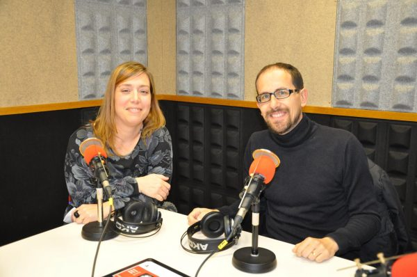 Javi Melenchón i Gemma Ruiz