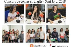 Concurs de contes en anglès Sant Jordi 2018