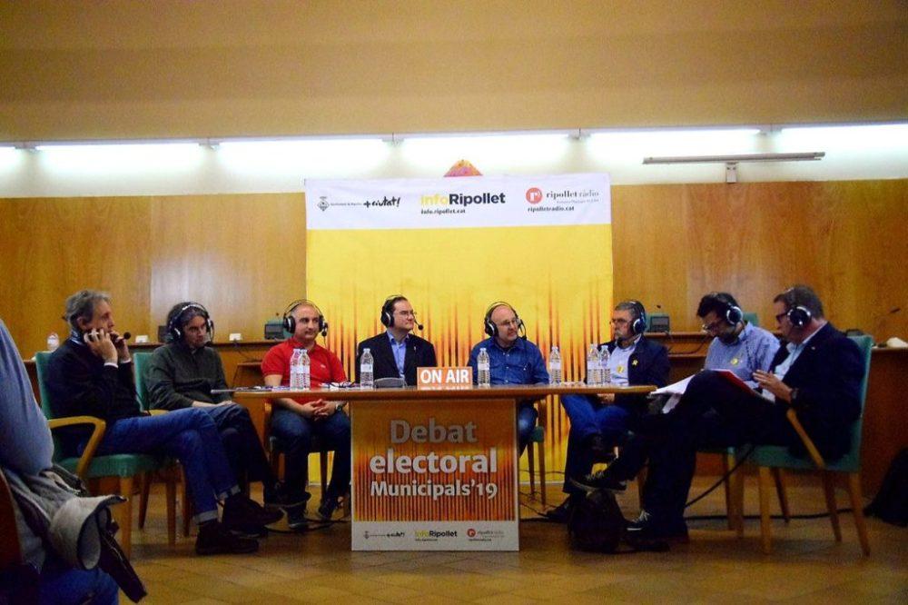 Retransmissió Debat Electoral 20/05/2019