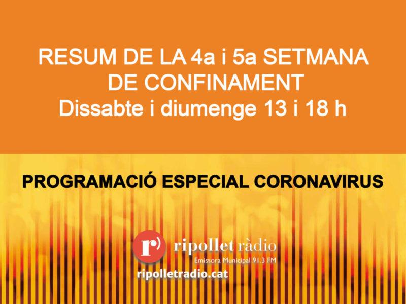 Especial Coronavirus 18/04/2020