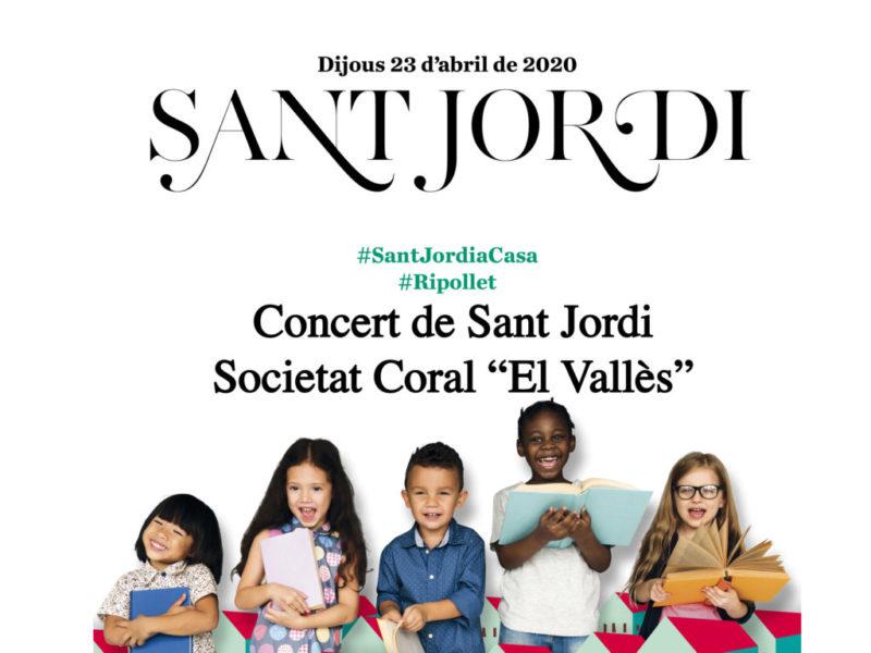 """Concert de Sant Jordi de la la Societat Coral """"El Vallès"""""""