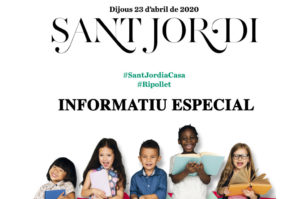 Informatiu especial #SantJordiaCasa
