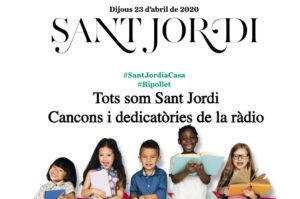 Tots som Sant Jordi: les cançons del #SantJordiaCasa