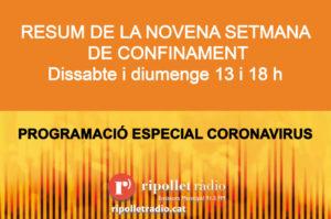 Especial coronavirus 16/05/2020
