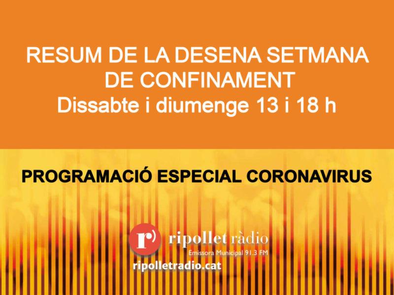 Especial Coronavirus 23/05/2020