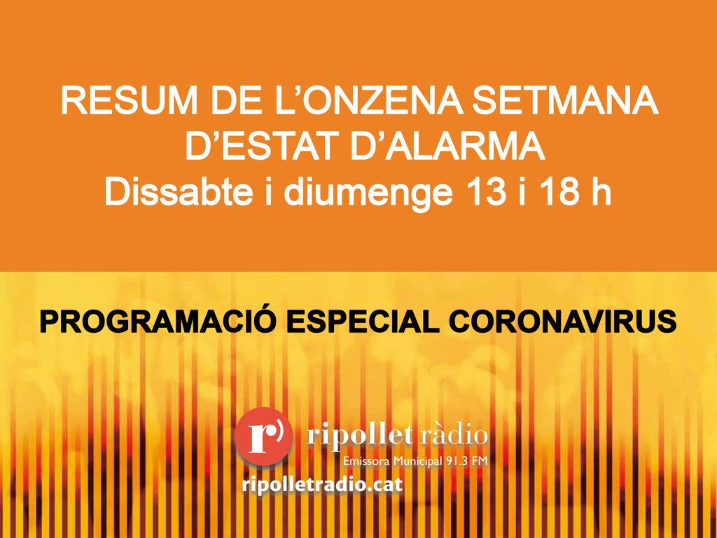 Especial coronavirus 30/05/2020
