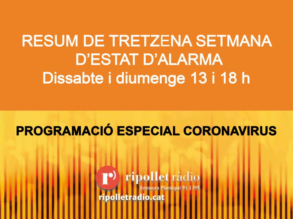 Especial Coronavirus 13/06/2020