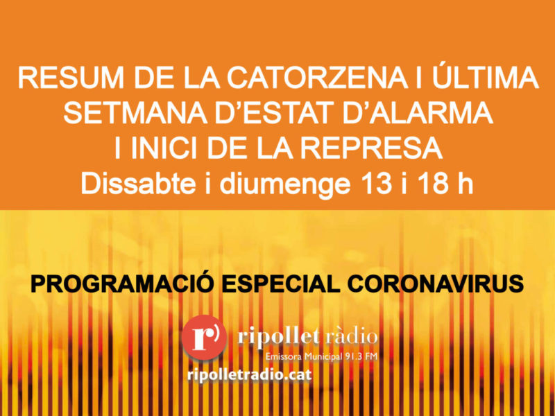 Especial Coronavirus 20/06/2020